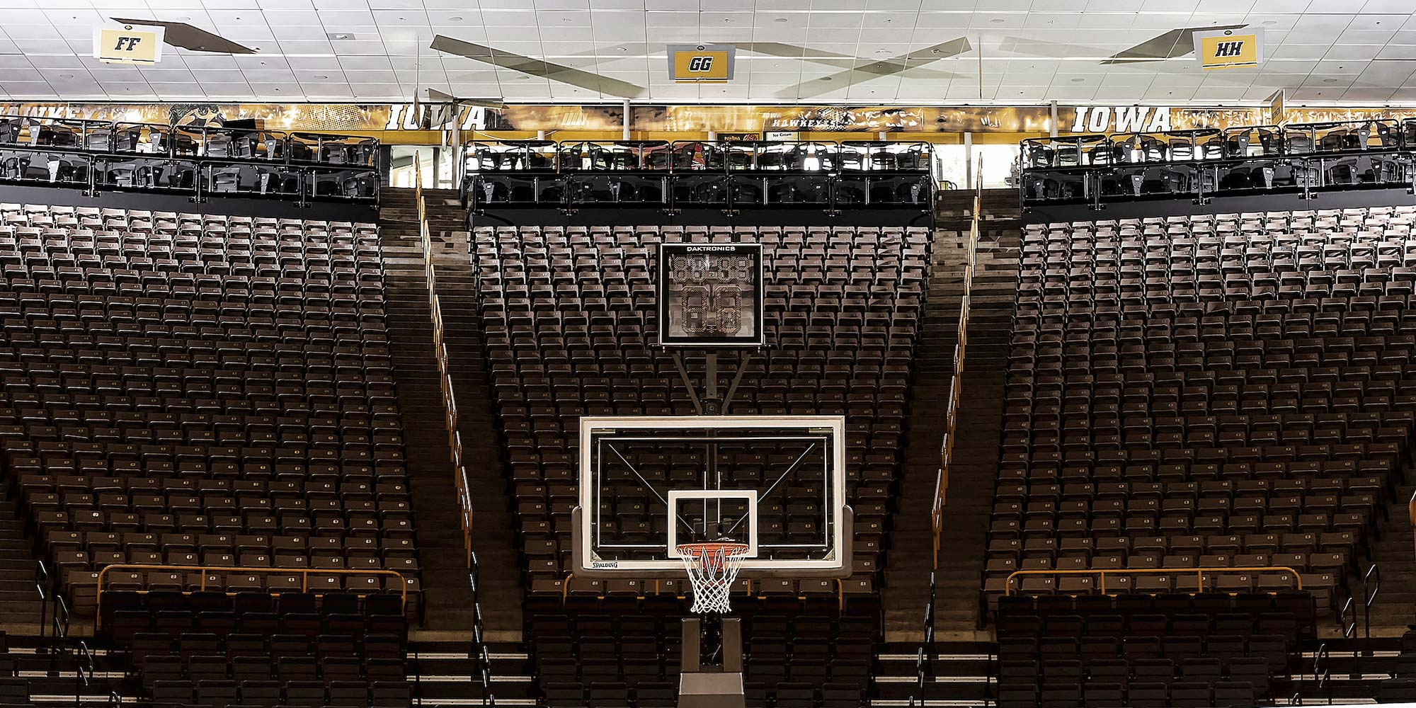 Carver Terrace Seating Court View
